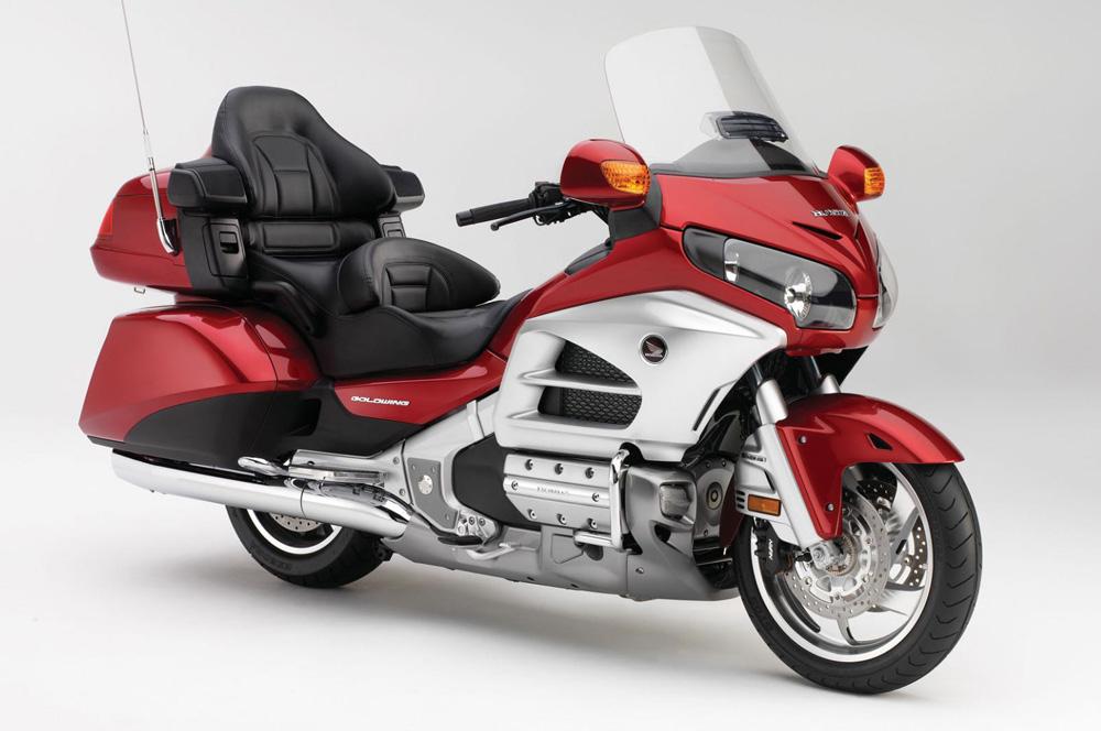 ¿Nueva cara para la Honda Goldwing?