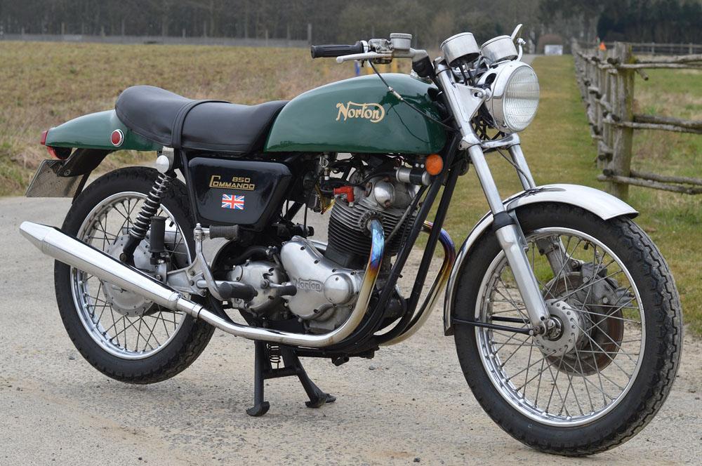 Norton Commando (1967-1977): el mito inglés