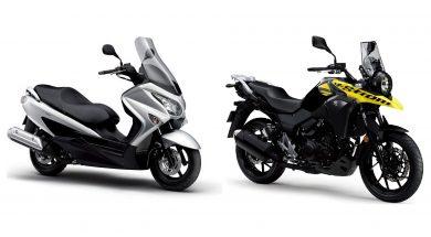 428 Suzuki V-Strom 250 y Burgman 200 01