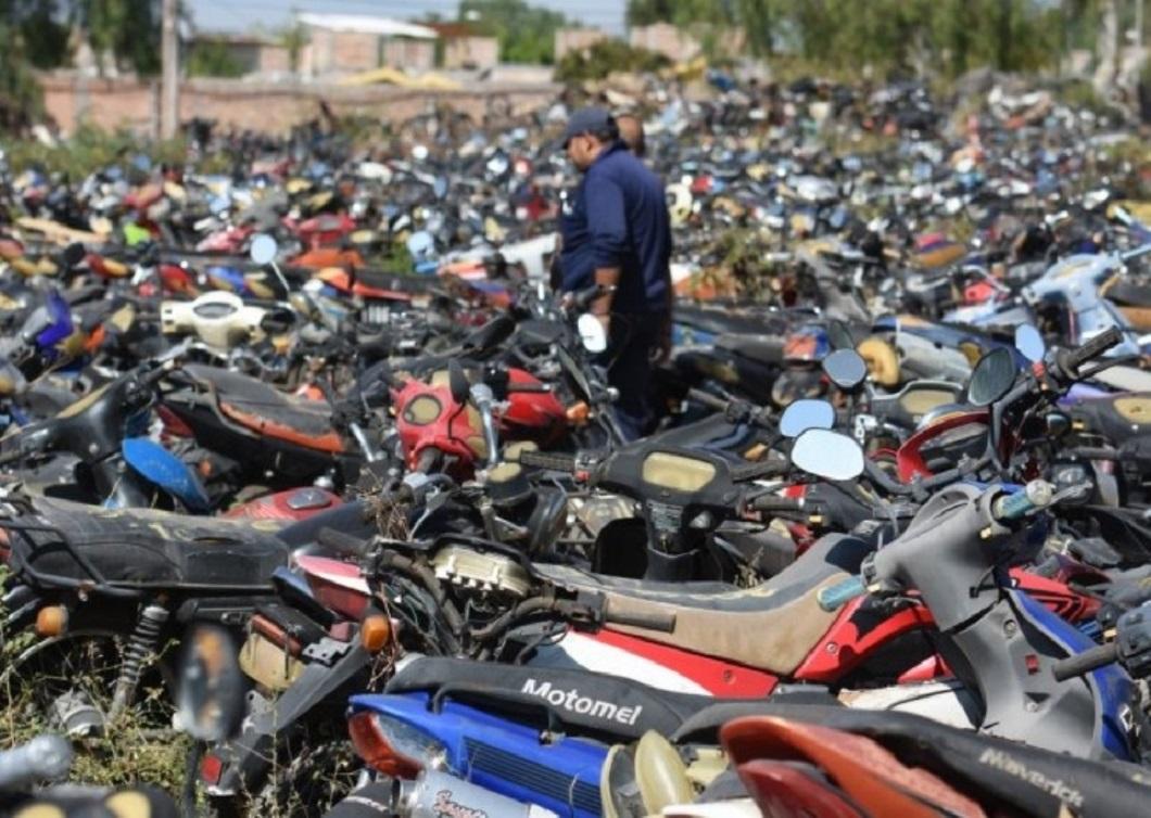 Motos por $3.000 en remates mendocinos