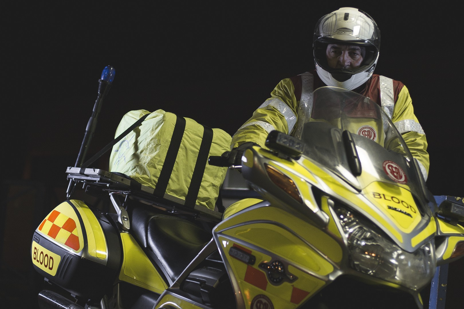 Blood Bikers: los motociclistas que salvan vidas