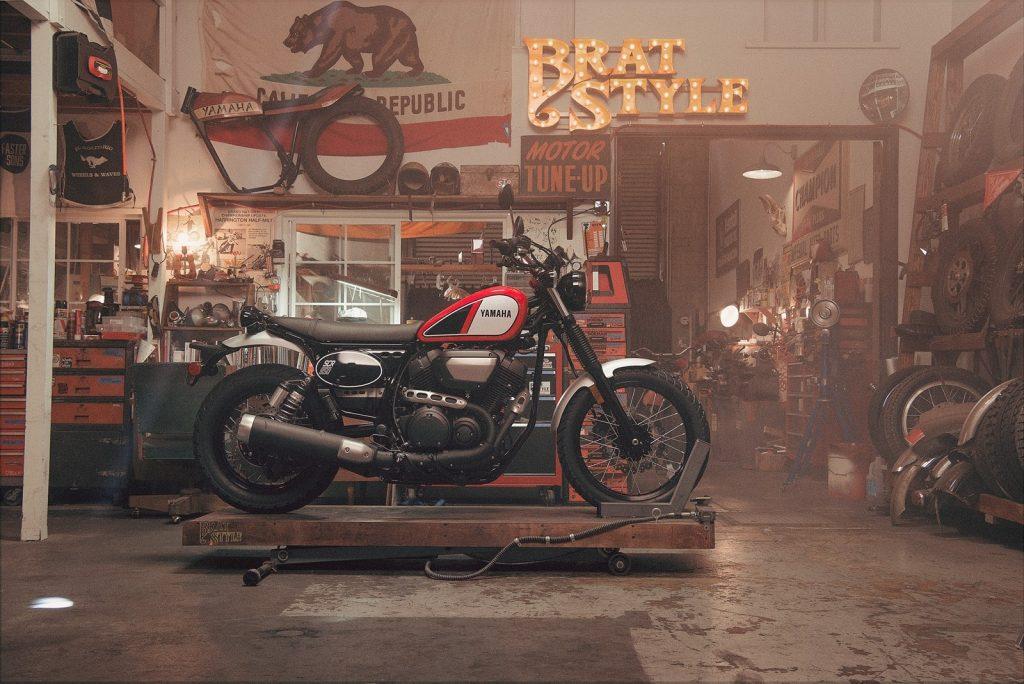 536 Cinco motos retro 4 Yamaha SCR950